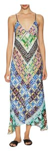 Muti-Colored Maxi Dress by MILLY Cabana Resort Maxi