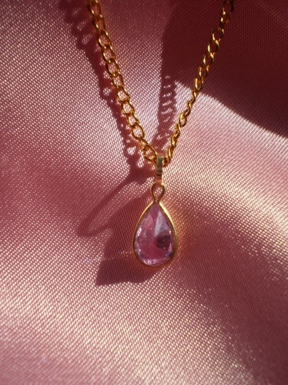 Unknown Like new Amethyst necklace