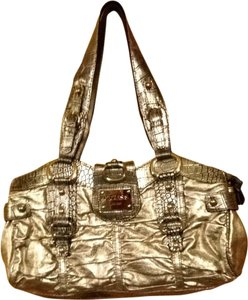 Guess Satchel in Silver