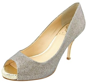 Vince Camuto Gold & Silver Pumps