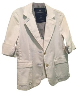 American Eagle Outfitters Chino Chino Work White Blazer