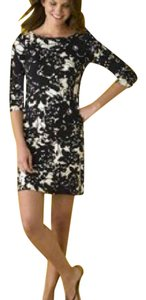 J.Crew short dress Floral Boatneck Knit Mini on Tradesy