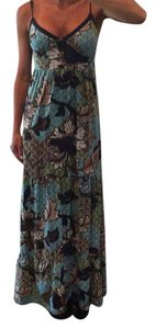 Blue green Maxi Dress by Mossimo Supply Co.