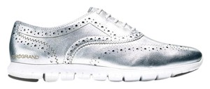 Cole Haan Silver Flats