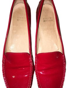 Stuart Weitzman Red patent leather Flats