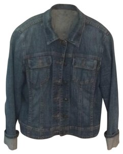 CAbi Blue denim Womens Jean Jacket