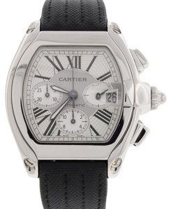 Cartier Cartier Roadster Chronograph XL Steel Automatic Mens Watch W62019X6 Box&Papers