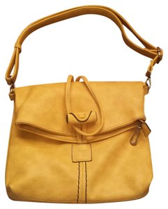 Purse Bright Yellow Cross Body Bag