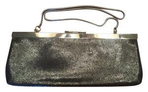 Calvin Klein Leather Designer Black Clutch
