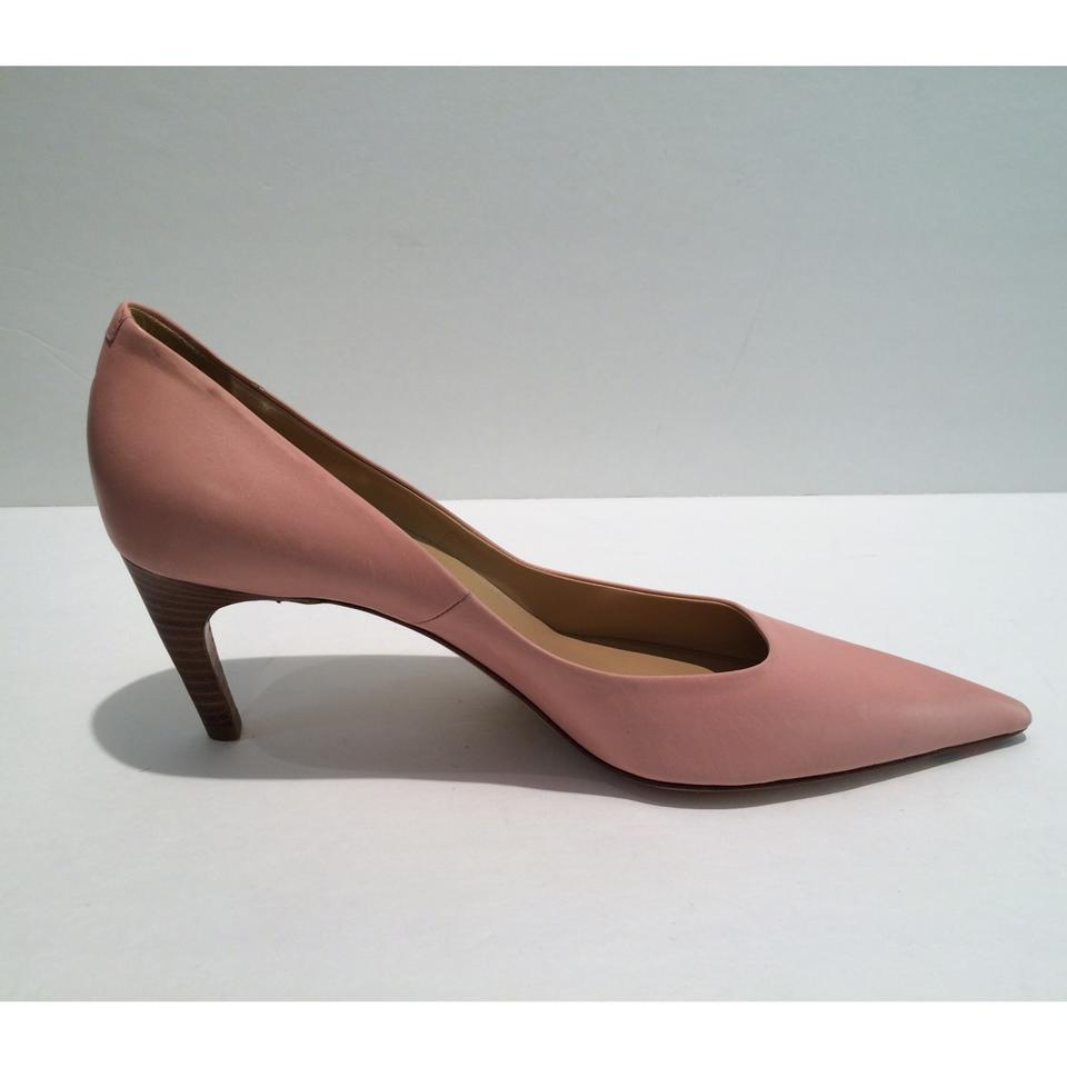 03620d0cd7f5 Roger Vivier New Pointy Toe Blush Low Heel Leather Pumps Size US 10 -  Tradesy