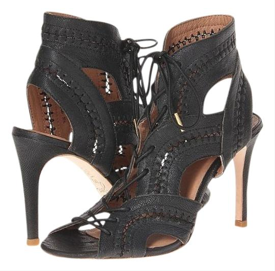 Preload https://img-static.tradesy.com/item/15684109/joie-black-new-remy-lace-up-leather-bootie-sandals-size-us-7-regular-m-b-0-3-540-540.jpg