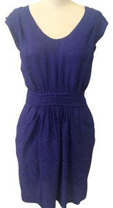 Rebecca Taylor short dress Blue Silk Theory Free People Vince Bcbgeneration on Tradesy