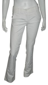 Theory On Striped Straight Pants White