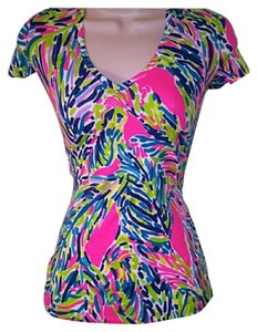 Lilly Pulitzer T Shirt Palm reader