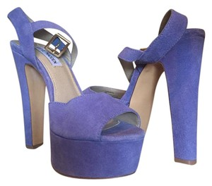 Steve Madden Pumps Party blue Platforms