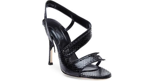 Chelsea Paris Black Sandals Image 1
