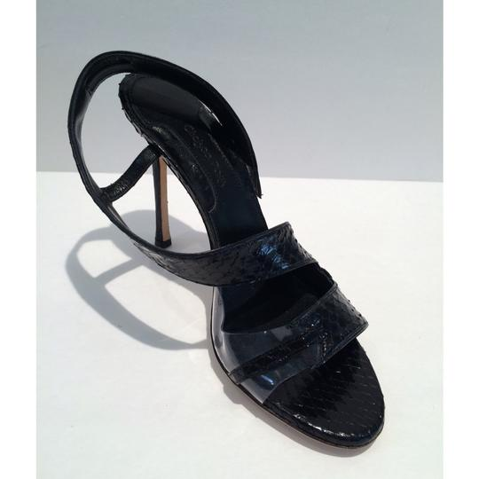 Chelsea Paris Black Sandals Image 5