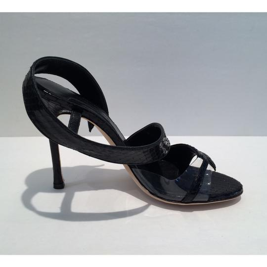 Chelsea Paris Black Sandals Image 6