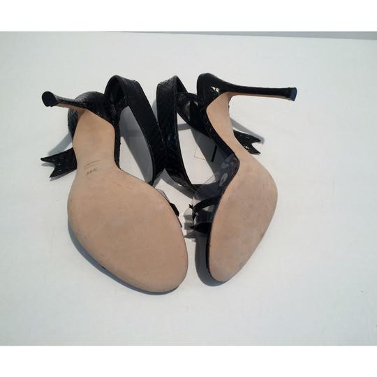 Chelsea Paris Black Sandals Image 7
