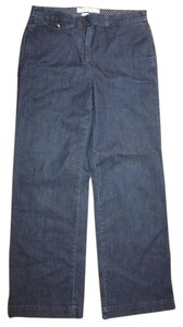 Liz Claiborne Denim Trouser Pants BLUE