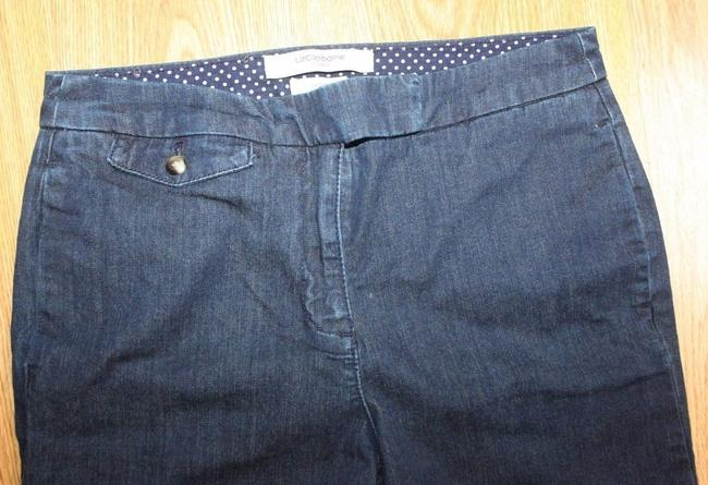 Liz Claiborne Denim Trouser Pants BLUE Image 1