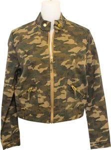 Golden Poppy Distressed Faded Militiary Military Grunge Hip Hipster Steezy Military Jacket