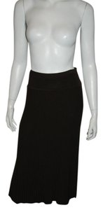 Donna Karan Maxi Skirt brown