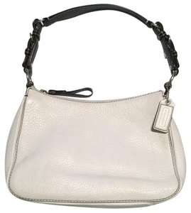 Coach Leather Hobo Pebbled Shoulder Bag