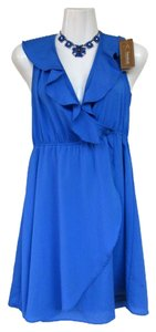 Francesca's New With Tags Ruffled Dress
