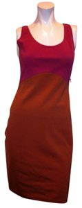 Halston short dress MULTI COLOR on Tradesy
