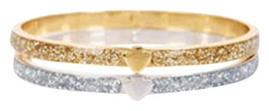 Kate Spade KATE SPADE New York Sparkle Spade Bangle Bracelet Set