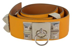 Hermès Hermes Yellow Epsom CDC Belt