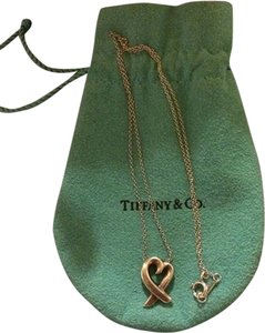 Tiffany & Co. Tiffany & Co Paloma Picasso Loving Heart Necklace