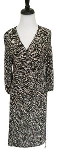 Laundry by Shelli Segal short dress Multicolor Wrap Print on Tradesy