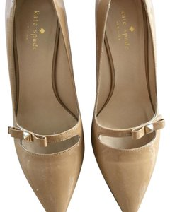 Kate Spade Cream and red Pumps