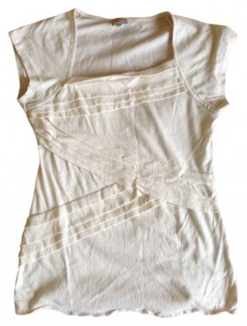 Preload https://item5.tradesy.com/images/anthropologie-white-tee-shirt-size-12-l-156869-0-0.jpg?width=400&height=650