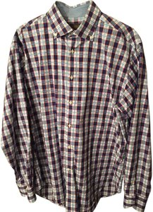 Thomas Dean Mens Shirts Mens Dress Shirt Button Down Shirt