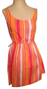 Tulle short dress Pink Orange Multi on Tradesy