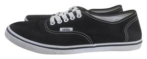 Vans Sneakers Black Canvas Summer Black/White Athletic