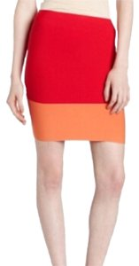 BCBGMAXAZRIA Mini Skirt Redberry
