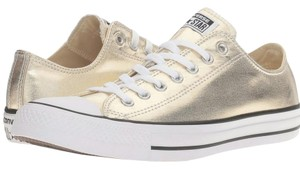 Converse Gold Metallic Athletic