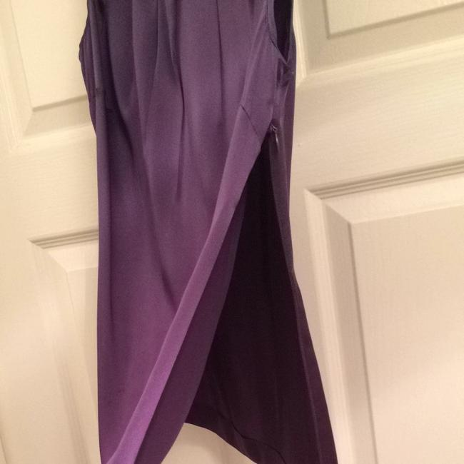 Classiques Entier Sleeveless Purple Shell Soft Camisole Elegant Top Eggplant
