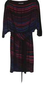 Maggy London short dress Black, Red, Blue and Purple on Tradesy
