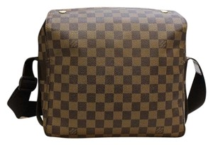 Louis Vuitton Vuitton Navliglio Vuitton Messenger Damier Ebene Messenger Bag