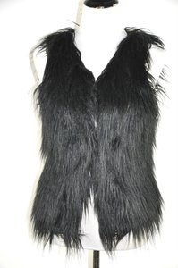 Moschino Faux Fur Sleeveless Vest