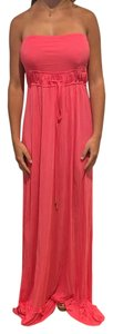 Melissa Odabash Rose Pink Cover Up Maxi Pink Cover Up Summer Dress