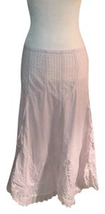 By Deep Los Angeles Maxi Skirt White