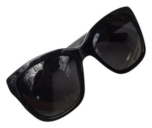 Dolce&Gabbana Dolce & Gabbana 4226 Sunglasses Black Silver Cat Eye Sunglasses Polarized ITALY*