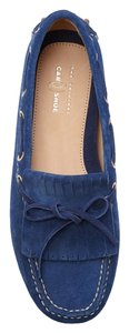 Prada The Car Shoe Blue Flats