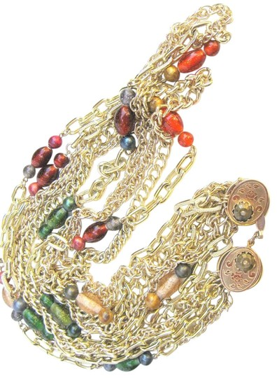Preload https://img-static.tradesy.com/item/15690634/multi-color-pamar-signed-multi-chain-and-italian-bead-italy-necklace-0-1-540-540.jpg